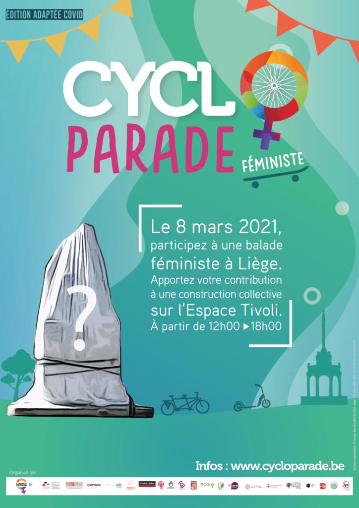 Affiche Cycloparade 2021